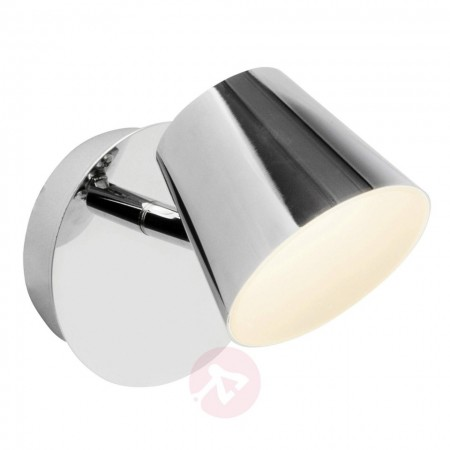 Aplica LED Torsion metal, alb, 1 bec, 6 W, 230 V