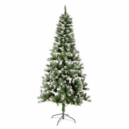 Brad artificial de Crăciun Griston Snow, 400 de lumini