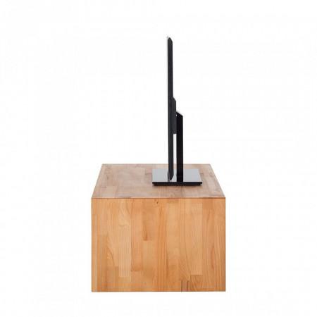 Comoda TV KireaWood I lemn de fag, maro, 100 x 35 x 50 cm