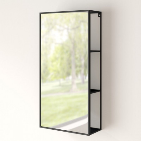 Dulap cu oglindă Cubiko, 30,4cm x 61,2cm