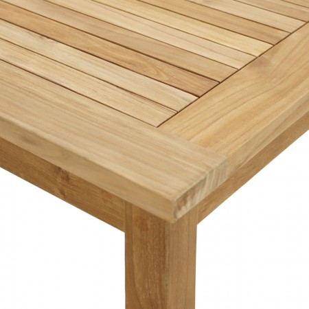 Masa de gradina Memphis, lemn masiv de tec, 80 x 80