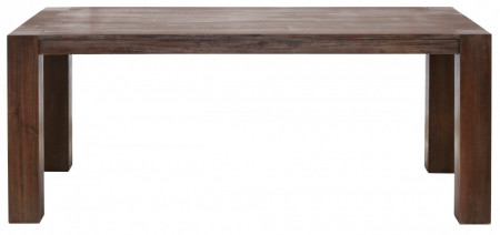 Masa de living Accacia din lemn masiv de salcam, maro havana, 180 x 90 cm