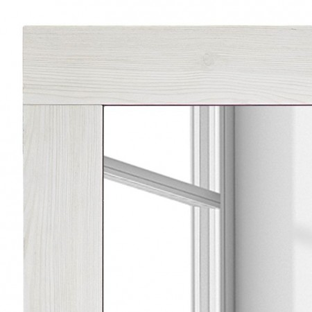 Oglinda Dodge I, 65 x 10,  rama din lemn de zada