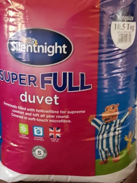 Pilota Super Full Silentnight, 10.5 tog, marime King