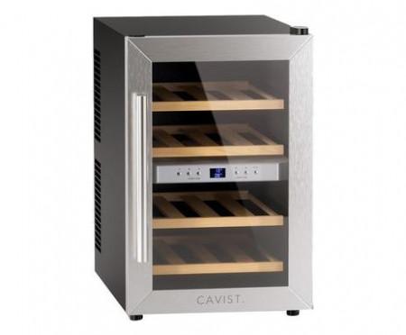 Racitor de vin H.Koenig, AGE12WV, Dual Zone, 12 sticle, 2 zone racire, 8 - 18 grade, ecran LED, sistem antivibratie