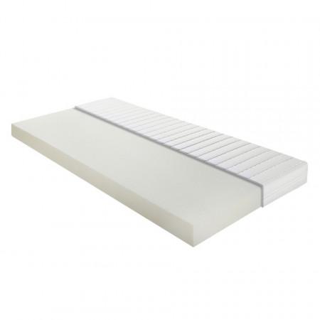 Saltea de pat Allround spuma polietera, alb, 90 x 12 x 200 cm