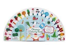 Set carte de colorat , creioane colorate cu radiere figurine