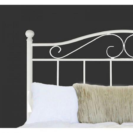 Tăblie pat Clarice, oțel, 123cm H x 130cm W