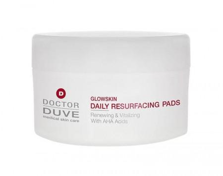 Tampoane faciale Doctor Duve Glowskin daily resurfacing pads