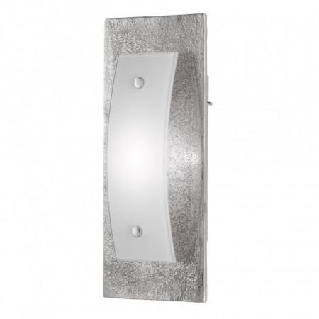 Aplica LED Bondy II fier, 1 bec, argintiu, 230 V, 3000 K