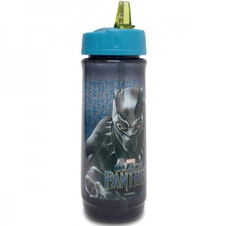 Cana Black Panther izoterma cu pai, 590 ml