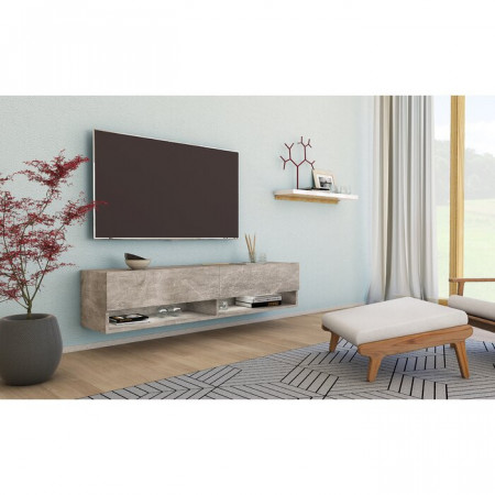 Comoda TV McGray, PAL, 140 x 30 x 32 cm