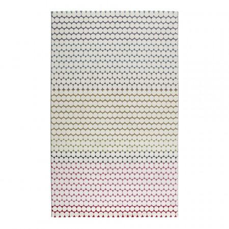 Covor Esprit Happy, 200 x 290 cm, fibre sintetice, bej/roz