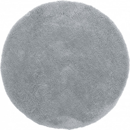 Covor rotund Leighton gri închis, 200cm