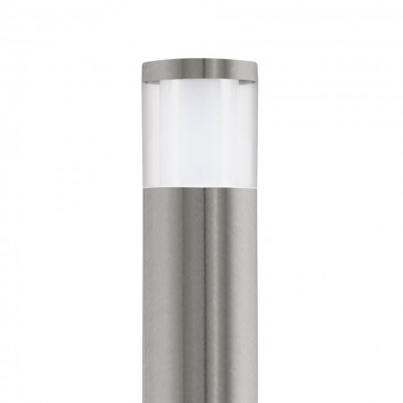 Lampa LED Basalgo plastic/otel, gri, diametru 10.5 cm, 4 W