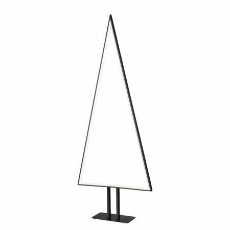 Lampadar, LED, aluminiu, negru, 40 x 100 x 10 cm, 6w