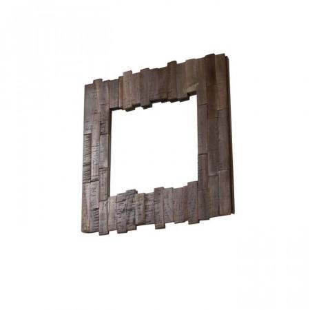 Oglinda de perete, maro, 45 x 45 x 30 cm