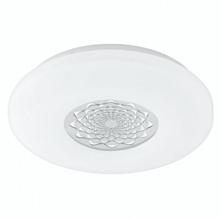 Plafoniera LED Capasso II plastic/otel, alb, 1 bec, diametru 34 cm, 230 V, 2765 K