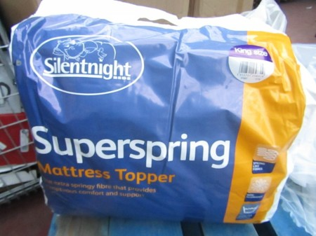 Protectie de saltea Superspring, Silentnight, marime King