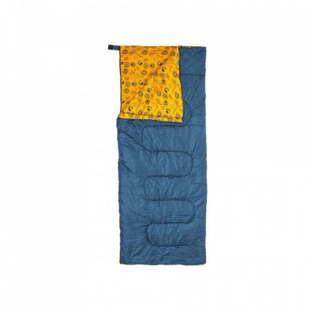 Sac de dormit Da Zambezi Envelope albastru închis, poliester/fibra sintetica, 185 x 75 cm, Discovery