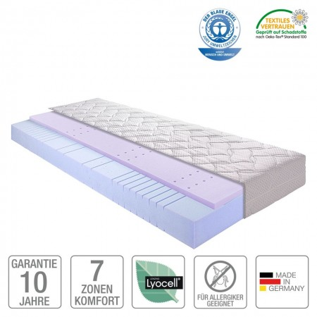 Saltea 7 zone Sleep Gel 2 180 x 200