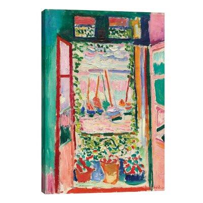 "Tablou "" Open Windows at Collioure "", 45.72 x 30.48cm"