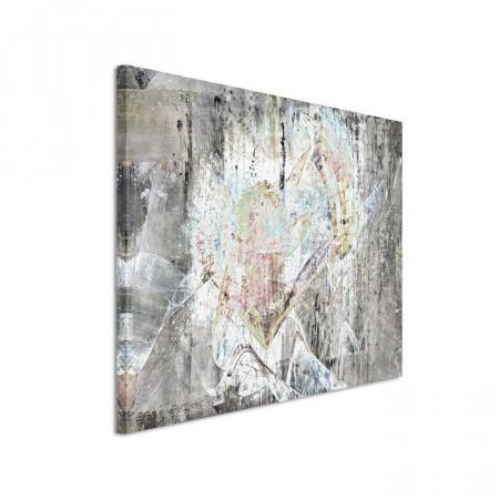 Tablou, panza, gri, 80 x 120 x 2 cm