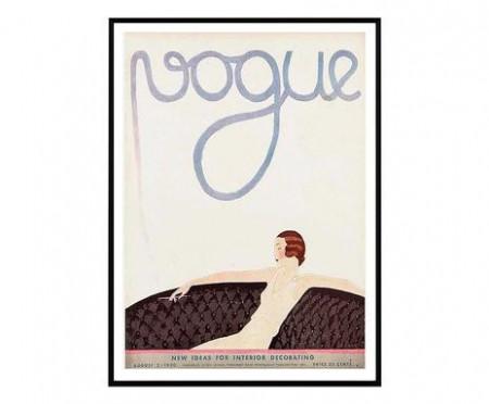 Tablou Vogue Retro III, 30x40 cm
