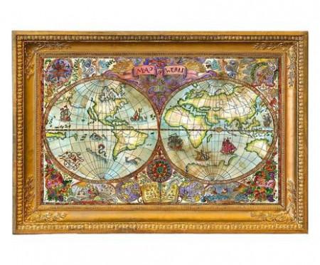 Tablou Worldmap