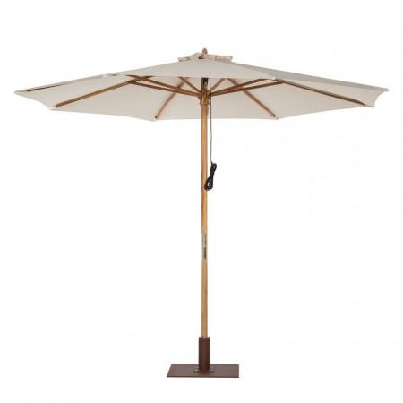 Umbrela Key West I din lemn de tec