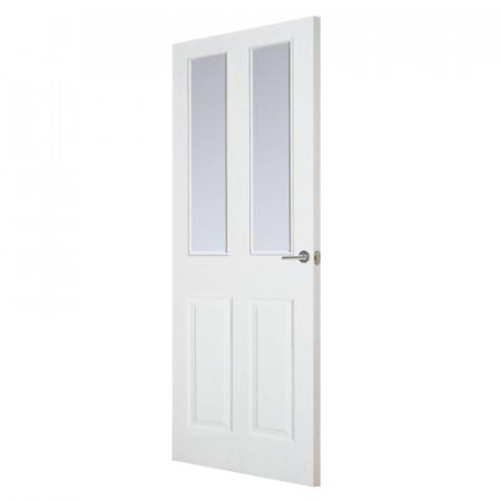 Usa de interior Torry, alb, 198 x 76 x 3.5 cm