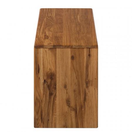 Bancuta de hol Anamur, lemn masiv de stejar salbatic