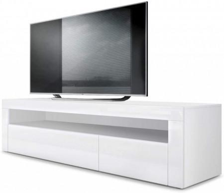 Comoda TV Vladon, lemn/metal, 108 x 92 x 40 cm