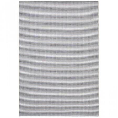 Covor, gri/albastru, 200 x 290 cm
