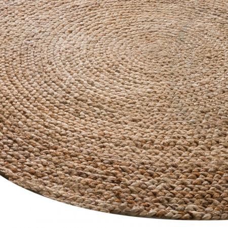 Covor rotund iuta Magna diametru 200cm