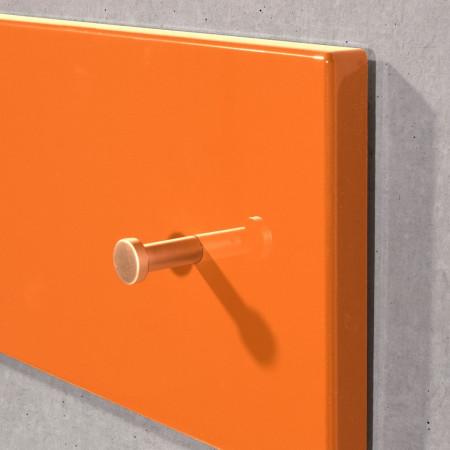 Cuier Colorado MDF/metal, portocaliu, 106 x 15 x 5 cm