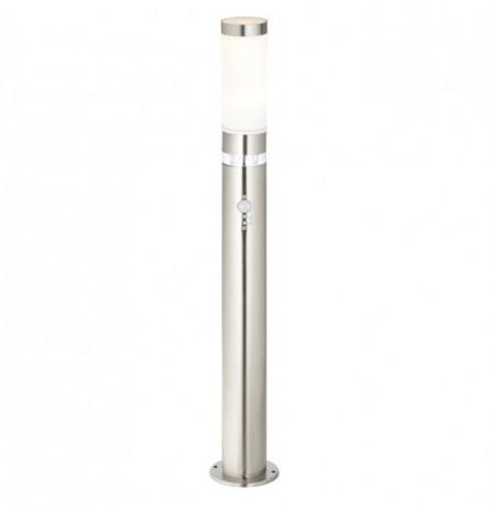 Lampa exterioara Bole metal/plastic, 1 bec, argintiu, diametru 8 cm, 12 V, 60 W