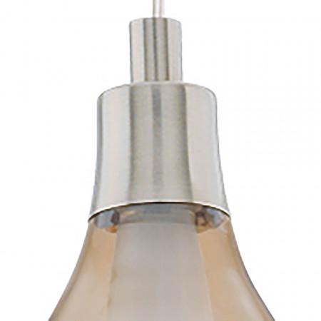 Lustra pendul LED Pontevedra I - sticla/otel