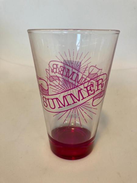 Pahar pentru apa Summer roz