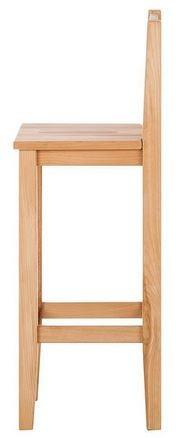 Scaun de bar din lemn masiv LeeWood