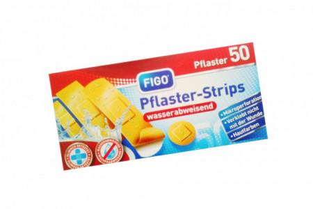 Set 50 de plasturi rezistenti la apa