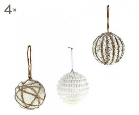 Set de 12 globuri Pearls