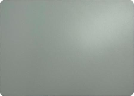 Set de 2 naproane din imitatie de piele, gri, 33 x 46 cm
