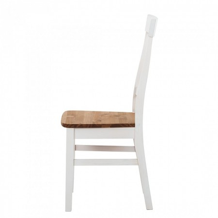 Set de 2 scaune Bergen, lemn masiv de pin