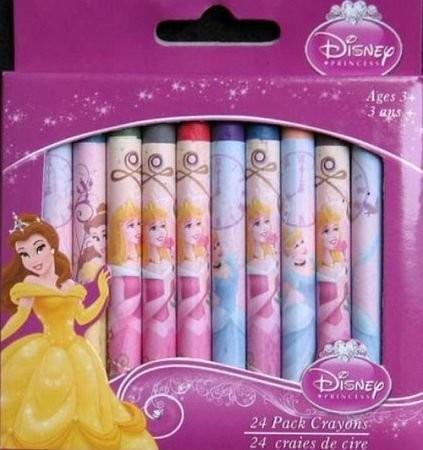 Set de 24 creioane colorate Disney Princess