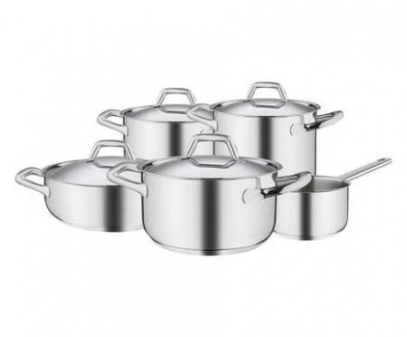Set de oale Chef Line, oțel inoxidabil, argintiu, 22 cm