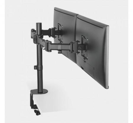 Suport reglabil pentru monitor cu 2 brate