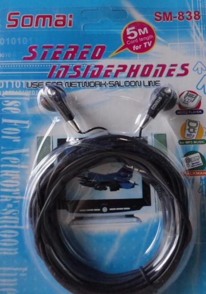 Casti multihobbie® 5 M cablu Stereo Computer Headset TV