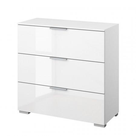 Comoda SKØP II, aluminiu