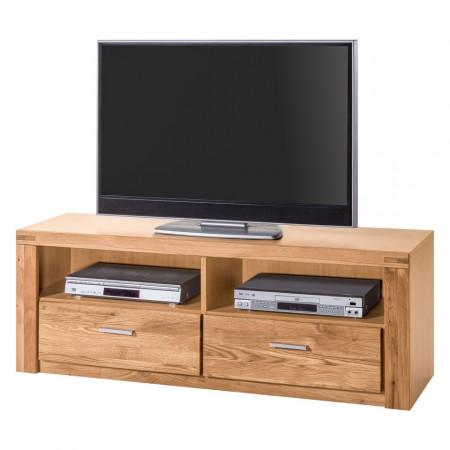 Comoda TV Lombok I lemn de stejar salbatic/PAL, maro, 138 x 52 x 40 cm